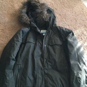 Olive Columbia Jacket Large